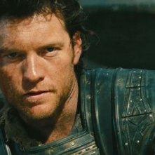 Wrath of the Titans: Sam Worthington è Perseo in una scena del film
