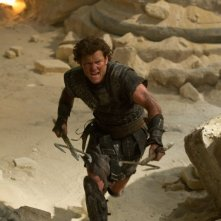 Wrath of the Titans: Sam Worthington nei panni di Perseo in una scena del film