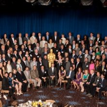 Academy Awards 2012: la foto di gruppo del Nominees Luncheon