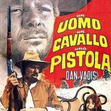 Un uomo, un cavallo, una pistola: la locandina del film
