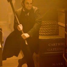 Benjamin Walker protagonista del film La leggenda del cacciatore di vampiri