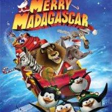 Buon Natale, Madagascar!: la locandina del film