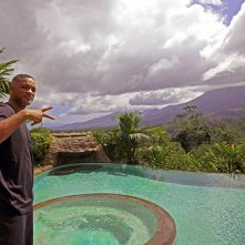 Will Smith in Costa Rica sul lussureggiante set di After Earth