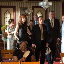Frances O'Connor, John Hurt e Billy Bob Thornton in una scena di Jayne Mansfield's Car