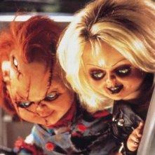 Una sequenza del film La sposa di Chucky