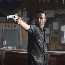 The Walking Dead: Andrew Lincoln in una scena dell'episodio Nebraska