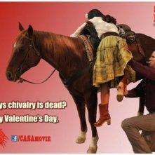 Will Ferrell in versione San Valentino in un'immagine promozionale di Casa de mi padre