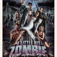A Little Bit Zombie: la locandina del film