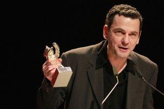Berlino 2012: Christian Petzold dopo la consegna del premio per Barbara