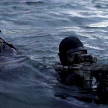 Una sequenza in acqua del film Act of Valor