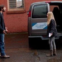 Amanda Seyfried in Gone (2012) con Joel David Moore