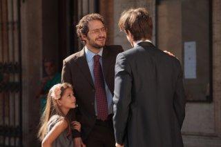 Claudio Santamaria in una scena del film Gli sfiorati