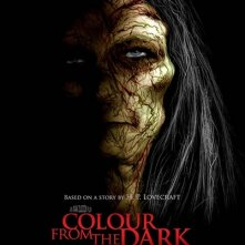 Colour from the Dark: la locandina internazionale del film