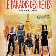 Le paradis des bêtes: la locandina del film