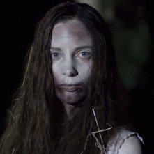 Marysia Kay sul set dell'horror Colour from the Dark
