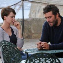 Sei passi nel giallo - Presagi: Andrea Osvart e Craig Bierko una scena del film TV