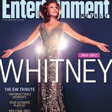 Whitney Houston sulla cover di Entertainment Weekly