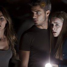 Paranormal Xperience 3D: Alba Ribas, Amaia Salamanca e Maxi Iglesias in un'immagine del film