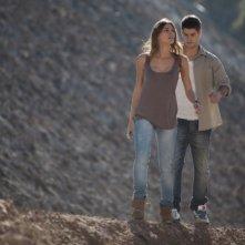 Paranormal Xperience 3D: Amaia Salamanca e Lucho Fernandez in una scena del film