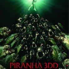 Piranha 3DD: ecco una nuova inquietante locandina internazionale