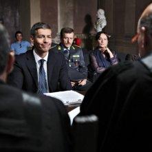 Ti stimo fratello: Giovanni Vernia in una scena del film insieme a Maurizio Micheli e Carmela Vincenti