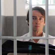 Alessio Boni in una intensa scena della miniserie di Rai Uno Walter Chiari Fino all'ultima risata