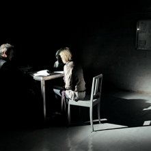 Ennio Fantastichini e Francesca Cuttica in un' immagine del film L'arrivo di Wang