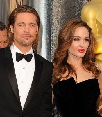 Oscar 2012: Brad Pitt e Angelina Jolie sul red carpet