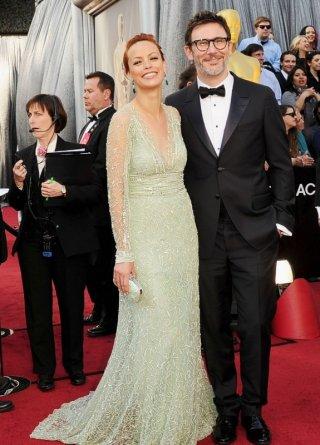 Oscar 2012: Michel Hazanavicius e Berenice Bejo sul red carpet