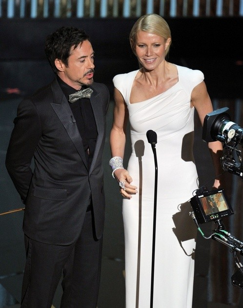 Oscar 2012 Robert Downey Jr E Gwyneth Paltrow Tra I Presentatori Di Questa Edizione 232693