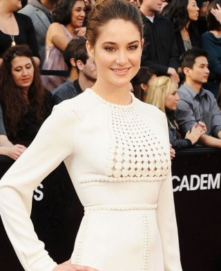 Oscar 2012: Shailene Woodley sul red carpet