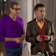 Glee: Jeff Goldblum e Brian Stokes Mitchell in una scena dell'episodio Cuore