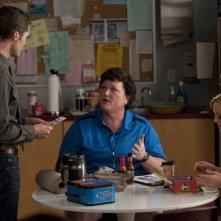 Glee: Matthew Morrison, Dot Jones e Jayma Mays in una scena de L'insegnate di spagnolo