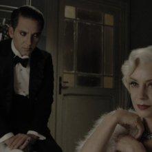 Margherita Buy in una scena del film Magnifica presenza con Beppe Fiorello