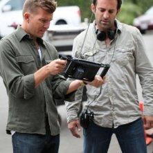 Act of Valor: i registi Mike McCoy e Scott Waugh sul set del film