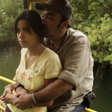 Daniel Zacapa nella serie tv The River con Paulina Gaitan, episodio pilota