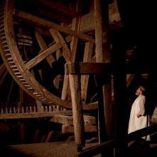 I colori della passione: l'interno di un mulino in una scena del film