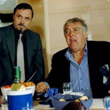 Buona giornata: Maurizio Mattioli in una scena del film con il comico Gabriele Cirilli