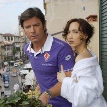 Buona giornata: Paolo Conticini e Chiara Francini in una scena del film
