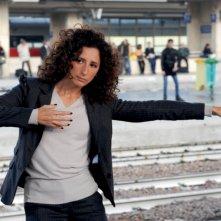 Buona giornata: Teresa Mannino in una buffa immagine tratta dal film