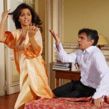 Buona giornata: Vincenzo Salemme in una scena del film con Tosca d'Aquino