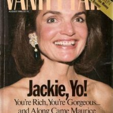 Jackie Kennedy su Vanity Fair nel 1989