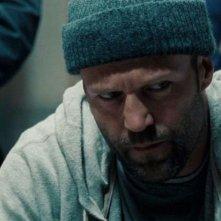 primo piano di Jason Statham in Safe
