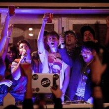 Project X: Oliver Cooper, Thomas Mann e Jonathan Daniel Brown durante il party