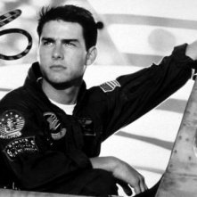 Top Gun: Tom Cruise in una bella immagine pubblicitaria del film