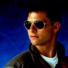 Top Gun: Tom Cruise in una immagine promo del film