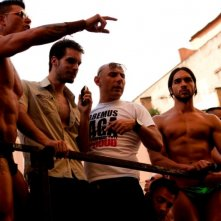 Good as You: Lorenzo Balducci e Diego Longobardi sul set durante il gay pride