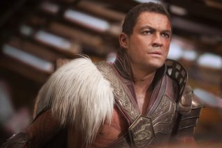 John Carter: Dominic West in una scena del film
