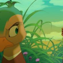 Leafie - La storia di un amore: una scena tratta dal film d'animazione diretto da Seong-yun Oh