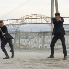 Una spia non basta: Chris Pine e Tom Hardy nei panni dei due agenti della CIA Foster e Tuck